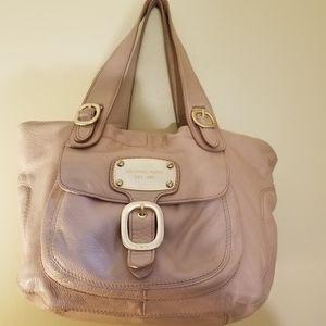 Michael Kors Leather Shoulder Bag Blush B-0911